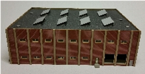 09118 N-SCALE CAR REPAIR SHOP - SMALL