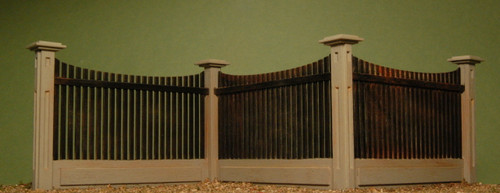 32512 - O-SCALE FENCE CORNER SECTIONS