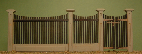 32513 - O-SCALE FENCE GATE SECTION
