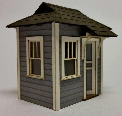 3289 - O-SCALE TELEGRAPH SHED