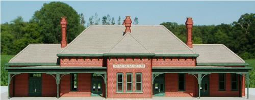 19052 - HO-SCALE DUQUOIN PASSENGER HOUSE