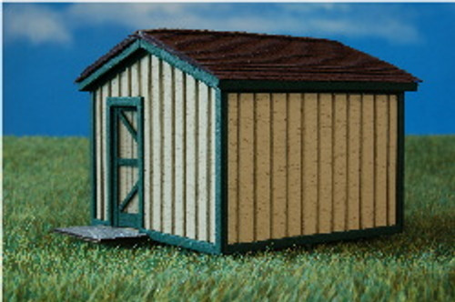 11391 - HO-SCALE STORAGE SHED