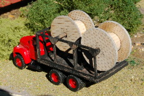 122317 - HO-SCALE TRUCK BED (CABLE)