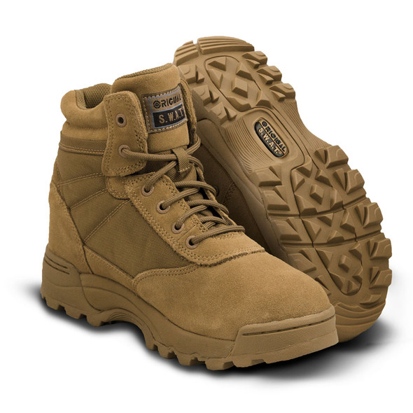 "Original SWAT 6"" Classic Coyote Boots 115103"