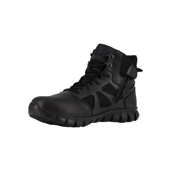 """Reebok 6"""" Sublite Cushion Tactical Side Zip Boots RB8605"""