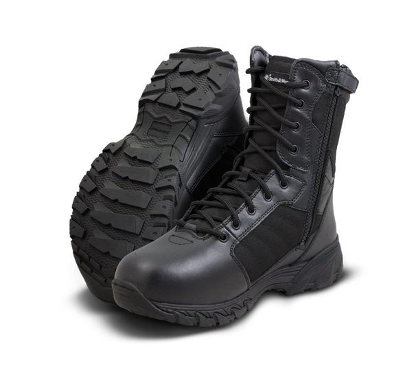 """Smith & Wesson Breach 2.0 8"""" Side Zip Boots 810201"""