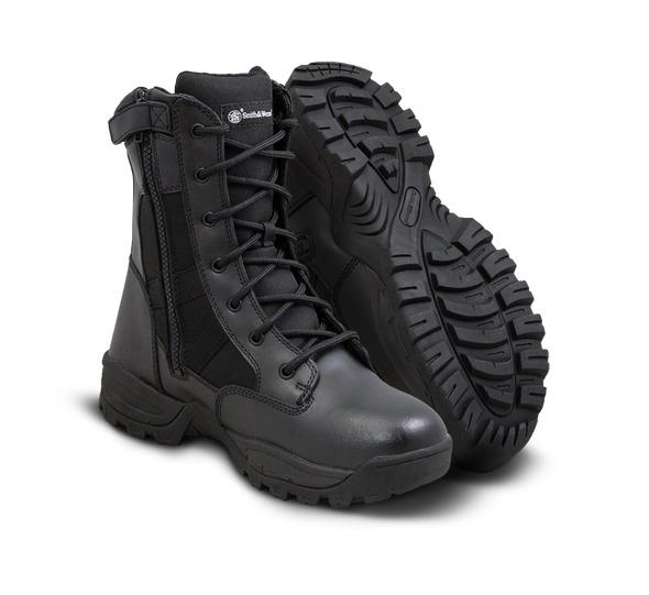 """Smith & Wesson Breach 2.0 8"""" Side Zip Waterproof Boots 810401"""