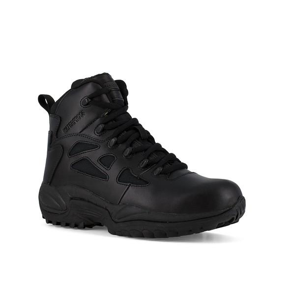 """Reebok 6"""" Rapid Response RB Side Zip Waterproof Boots RB8688"""