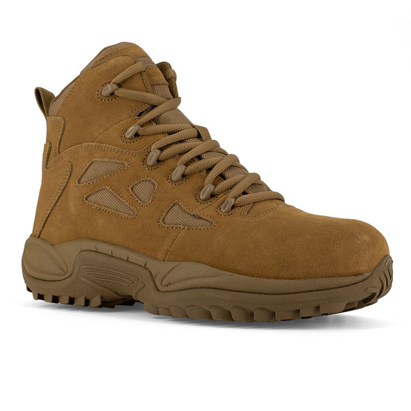 Reebok Rapid Response RB Coyote Composite Toe Side Zip Boots RB8650