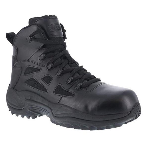"Reebok 6"" Rapid Response RB Composite Toe Side Zip Boots RB8674"