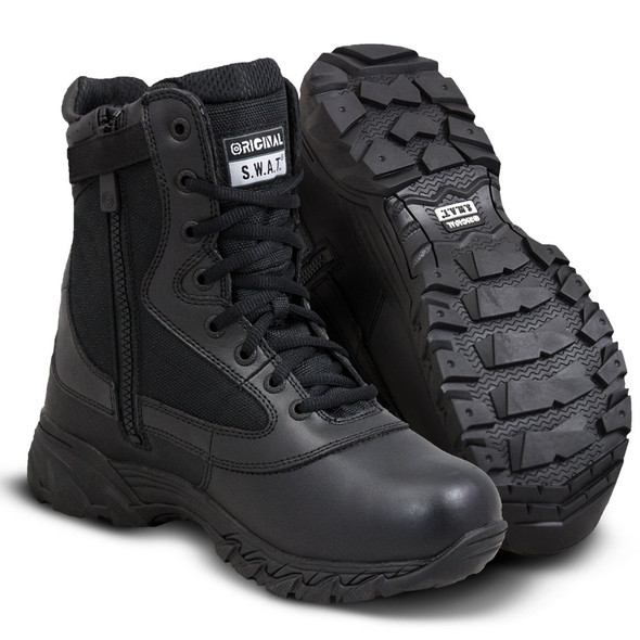 """Original SWAT Chase 9"""" Side Zip Boots 131201"""
