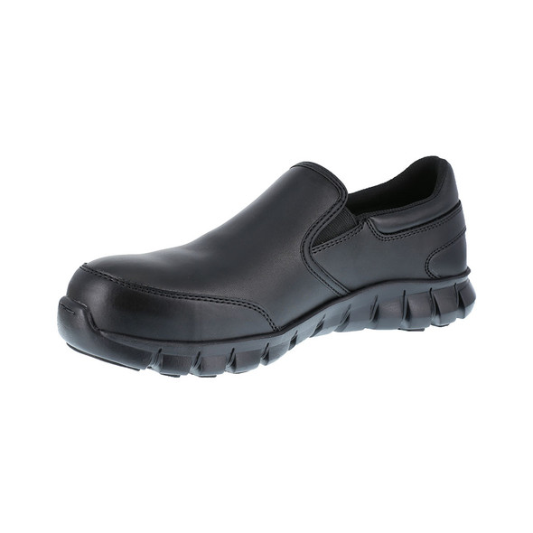 Reebok Women's Sublite Cushion Composite Toe Static Dissipative Work Shoe RB036