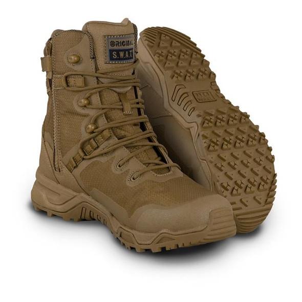 Original SWAT Alpha Fury 8 Side Zip Coyote Boots 177503