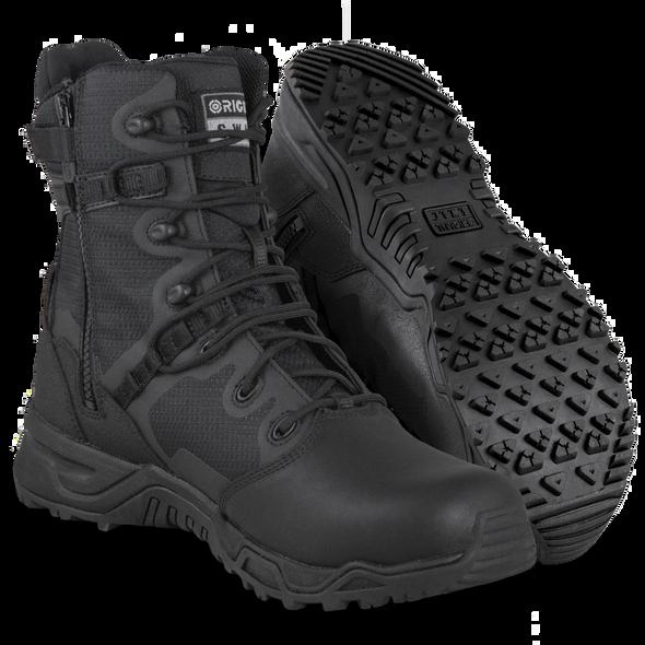 Original SWAT Alpha Fury 8 Polishable Toe Side Zip Boots 176401