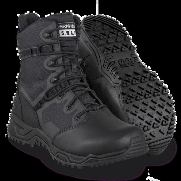 Original SWAT Alpha Fury 8 Polishable Waterproof Side Zip Boots 176601