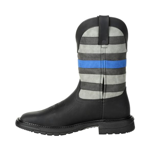 Rocky Blue Line Western Boot RKD0072