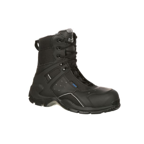 Rocky 1st Med Carbon Fiber Toe Puncture Resistant Side Zip Waterproof Boots  FQ0911113