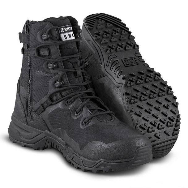 Original SWAT Alpha Fury 8 Side Zip Safety Boots 178401