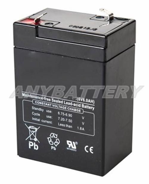 6v, 6ah Battery