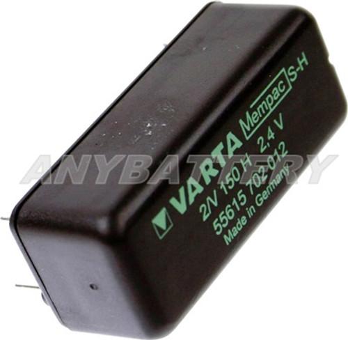 Varta Mempac 2/V150H, Varta 55615702012, Varta 55615 702 012, Varta DS2GT, Varta PCBM-2.4