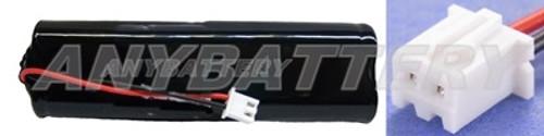 Dual-Lite 12-859 Battery, Dual-Lite 0120859, Lithonia D-AA650BX4