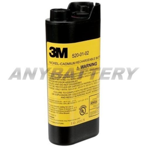 3M 520-01-02R01 Battery, FR-57L10, FR-57L68 & FR-57L69