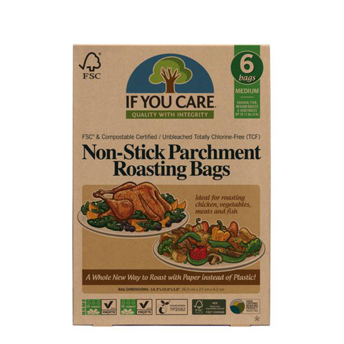 Non-Stick Parchment Roasting Bags - Medium
