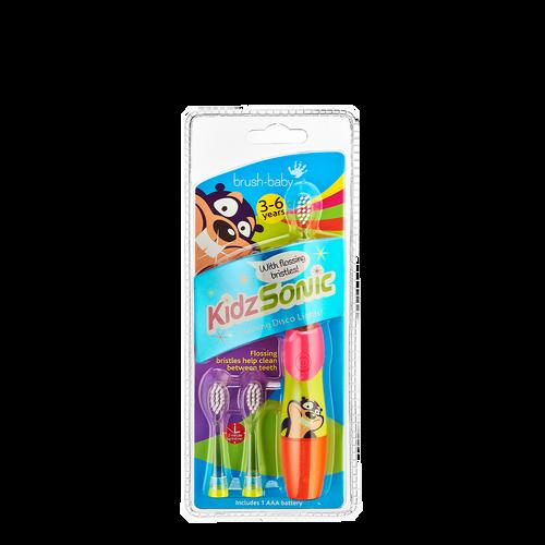 Kidzsonic Electric Toothbrush - 3-6 years Pink