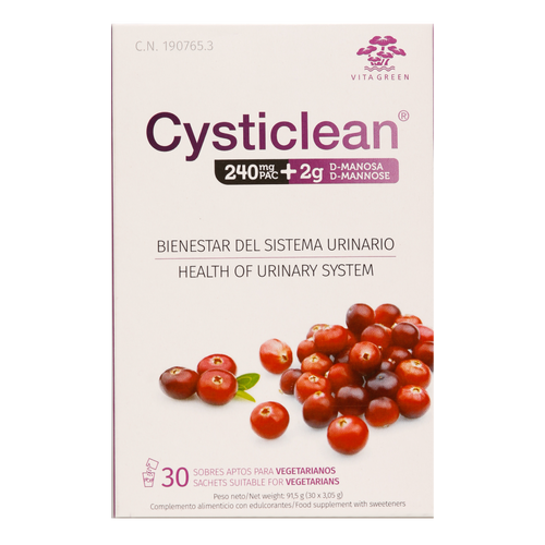 Cysticlean PAC + D-Mannose