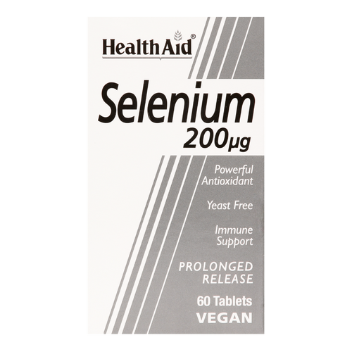 Selenium Prolonged Release Tablets contain Selenium It helps protect tissue cells against oxidative damage caused by free radicals. Selenium helps in the maintenance of a healthy heart, liver and prostate.
