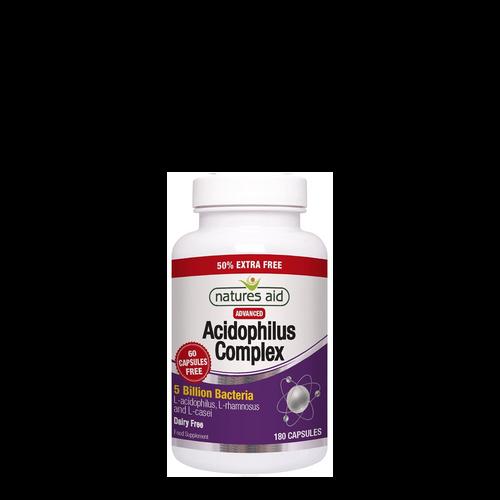 Acidophilus Complex - 50% Extra Free 120+60-capsules