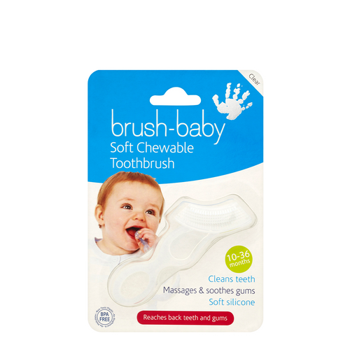 Chewable Toothbrush and Teether