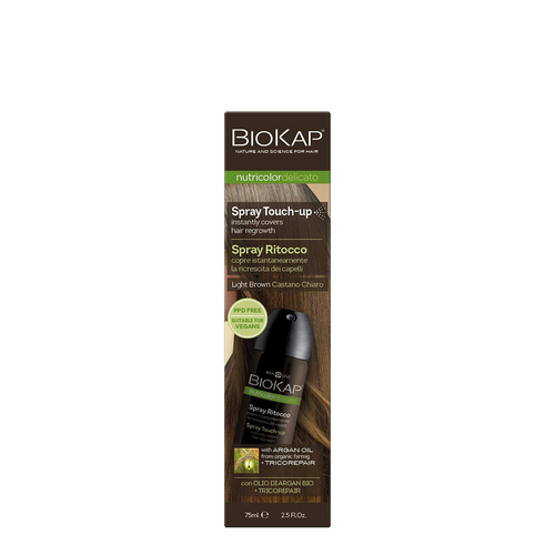 BioKap Instant Root Touch Up Spray - Light Brown