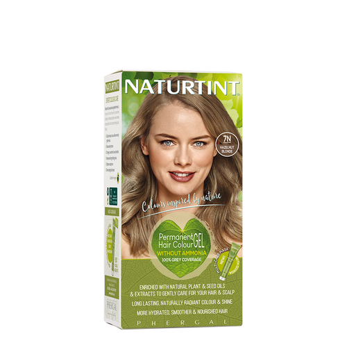 Permanent Hair Colour Natural 7N Hazelnut Blonde