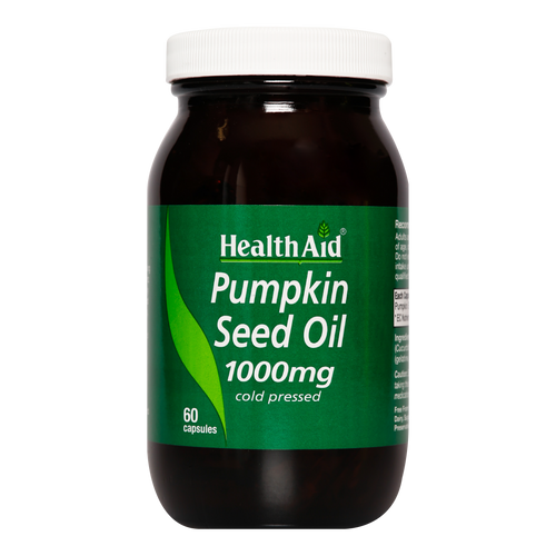 HealthAid Pumpkin Seed Oil Capsules  maintain a healthy prostate,  healthy joints