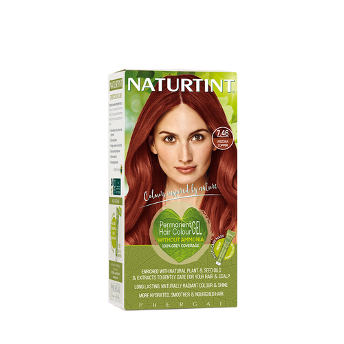 Permanent Hair Colour Illusion 7.46 Arizona Copper