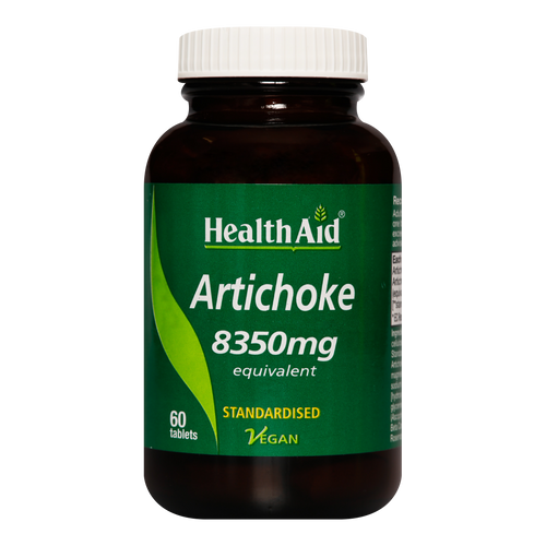 HealthAid Artichoke Tablets are formulated using the best quality standardised artichoke extract to alleviate digestive problems such as bloating.