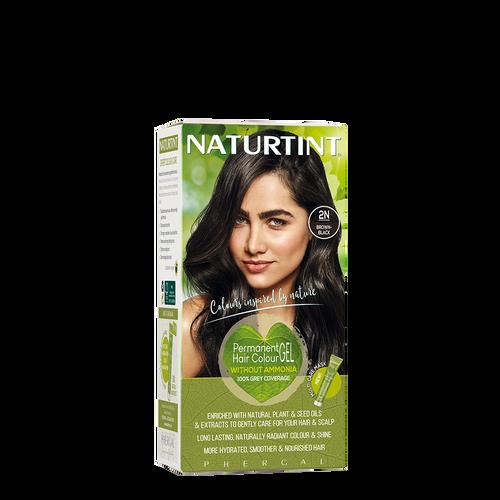 Permanent Hair Colour Natural 2N Brown-Black