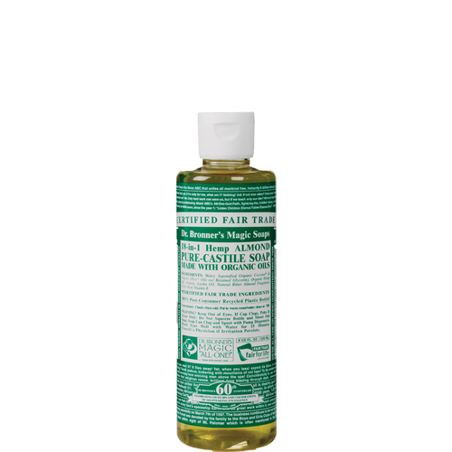 Organic Almond Pure Castile Liquid Soap