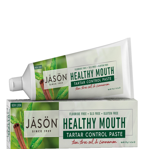 Healthy Mouth Antiplaque & Tartar Control Toothpaste (Fluoride Free)