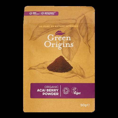 Green Origins Acai Berry Powder benefits for skin