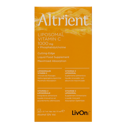 LivOn Labs Altrient C is a liposomal form of Vitamin C and is the first choice of people who really understand bioavailability and the importance of high-dose vitamin C.