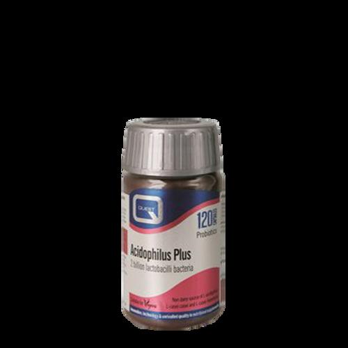 Quest Acidophilus Plus capsules improve digestion & prevent infections