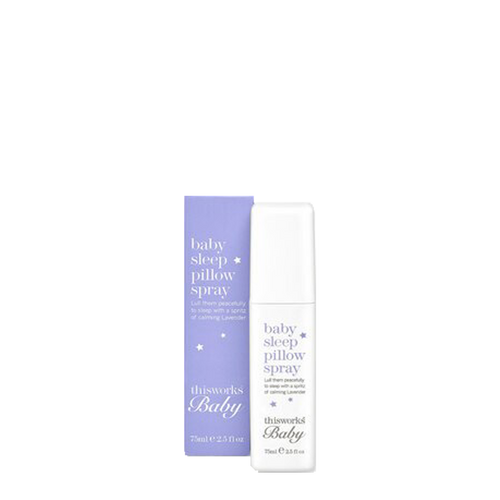 This Works Baby Sleep Pillow Spray is designed especially for use with babies and children, giving everyone a good night's sleep