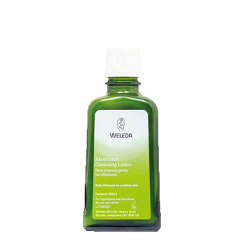Weleda Aknedoron Cleansing Lotion is a purifying lotion specially formulated to deep cleanse and freshen problem skin, gently but effectively