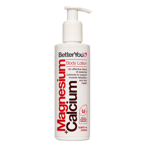 Expertly formulated, Better You Magnesium Calcium Lotion delivers the ideal ratio or Calcium and Magnesium within a scientifically proven way of supporting normal bone and skin health.
