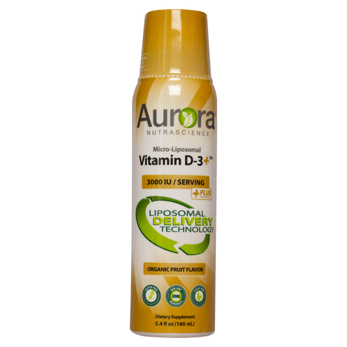 Aurora Nutrascience Micro-Liposomal Vitamin D3 comes in a liposomal delivery system which is a easily absorbed through the digestive system.