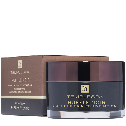 Truffle Noir 24-Hour Skin Rejuvenation renews, firms and smooths your skin, leaving it with a healthy, satin-matte finish.