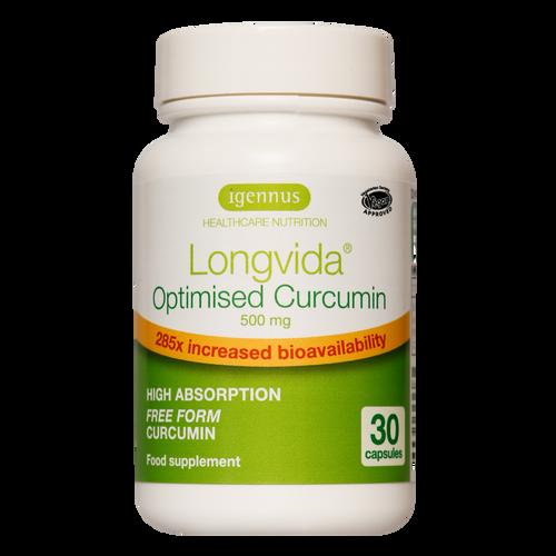 Longvida Optimised Curcumin