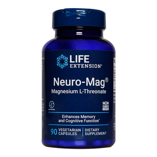 The only form of magnesium that is taken up by the nervous system to help enhance memory & prevent migraine recurrences.